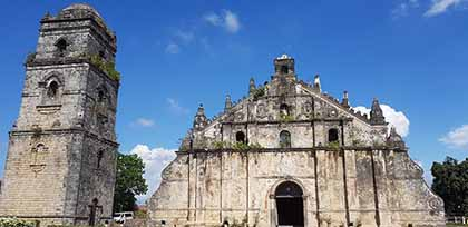 Paoay Church, a legacy of Spanish architecture in Manila